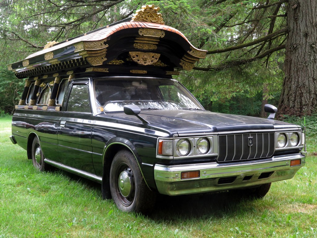 1980 Toyota Crown Hearse on toyota straight 6 engine