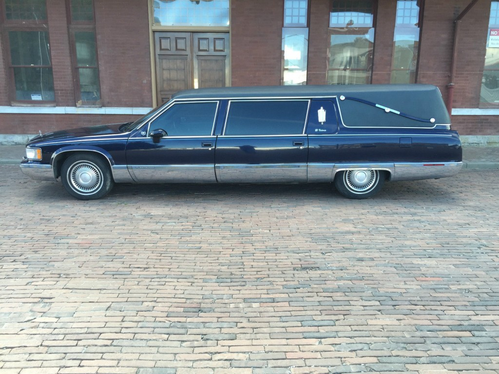 Cadillac Fleetwood Brougham Sedan Hearse For Sale X