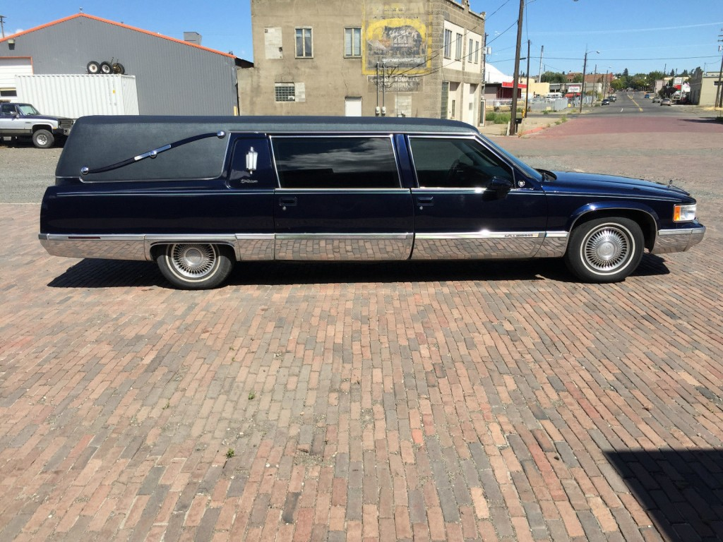1994 cadillac fleetwood brougham sedan hearse for sale. Cars Review. Best American Auto & Cars Review