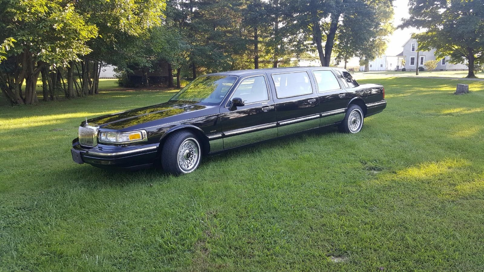 1997 Lincoln Town Car 6 Door Limousine Funeral Coach For Sale