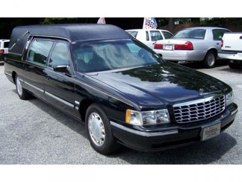 1998 Cadillac Deville Hearse M&M for sale