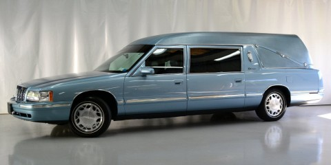 1998 Cadillac Deville S&S Coach Masterpiece Hearse for sale