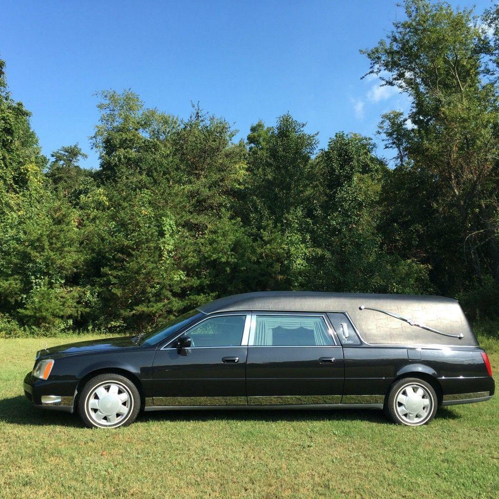 2001 Cadillac Deville Eagle Hearse For Sale