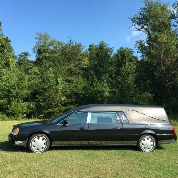 2001 Cadillac Deville Eagle Hearse for sale