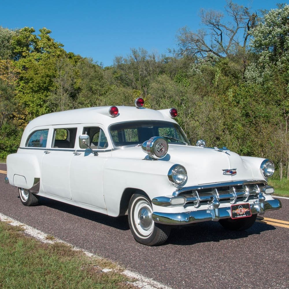 1995 Buick Roadmaster Interior: 1954 Chevrolet 150 Special Ambulance For Sale