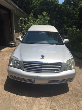 Clean 2003 Cadillac Eureka hearse for sale