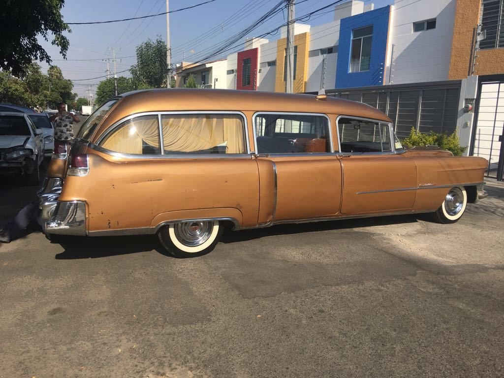 Coachbuild By A J Miller 1955 Cadillac Hearse For Sale