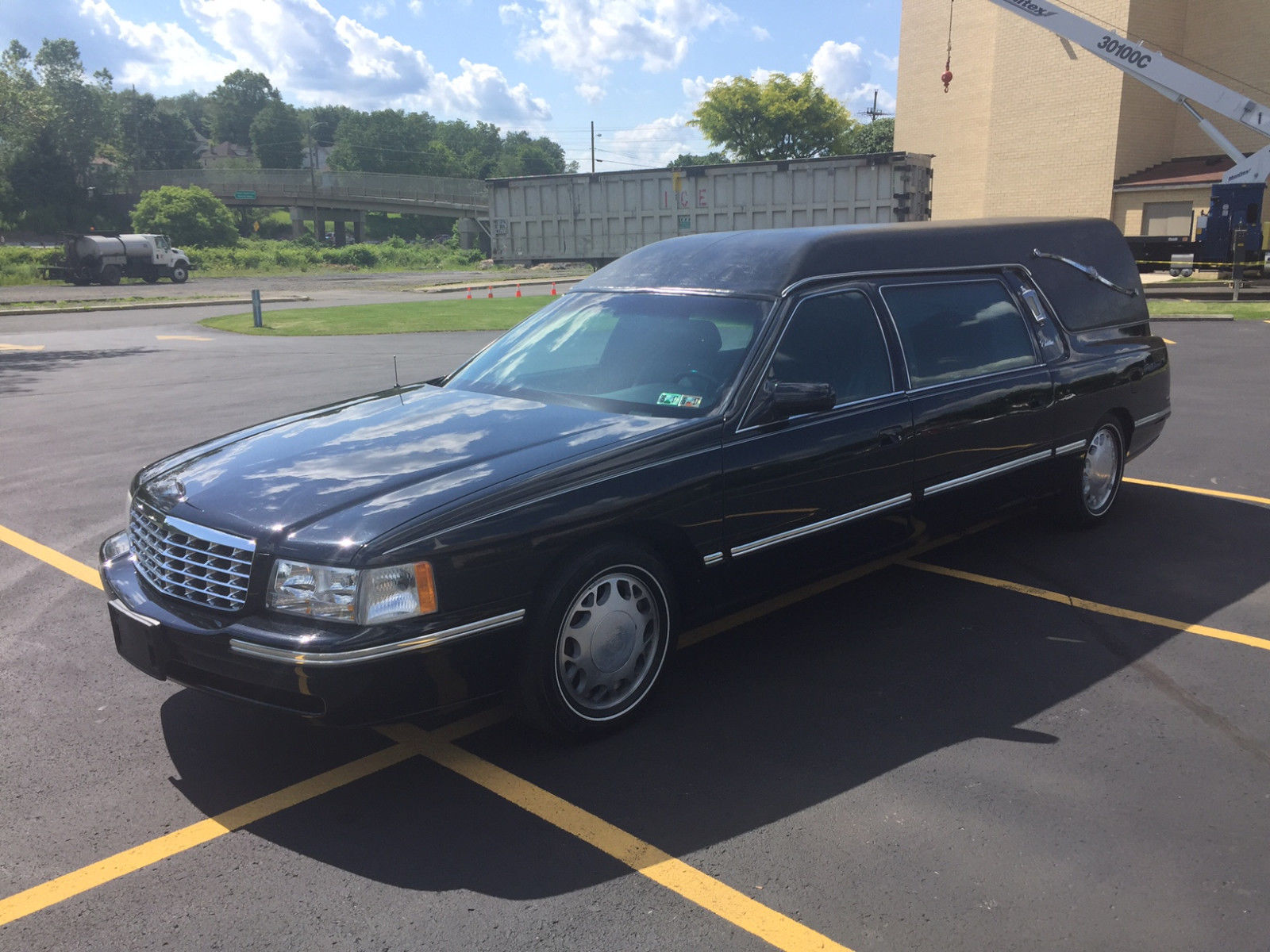 Everything Complete Cadillac Krystal Koach Hearse For Sale