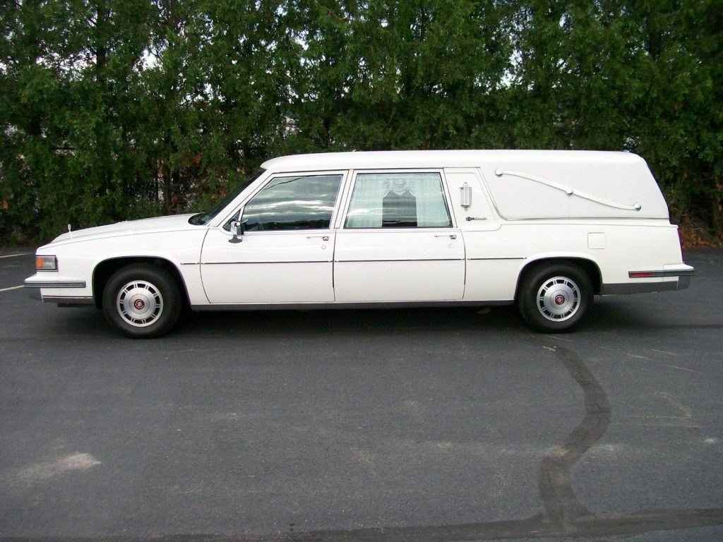Runs Great 1986 Cadillac Fleetwood Hearse For Sale