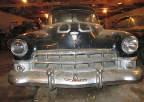 Some work done 1949 Cadillac S&S Knickerbocker Hearse for sale