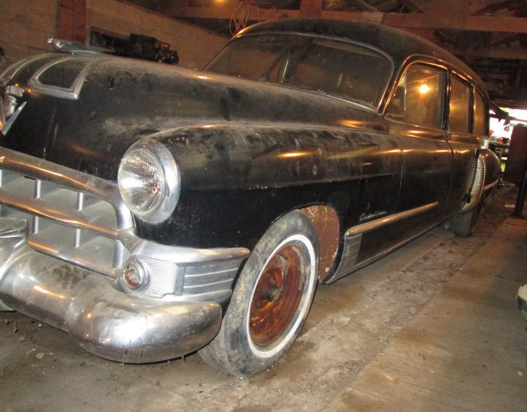 Some Work Done 1949 Cadillac S Amp S Knickerbocker Hearse For Sale