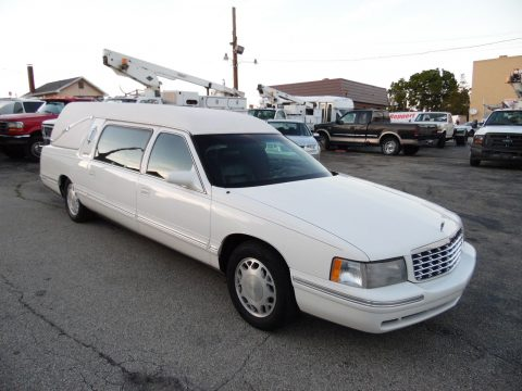 Super clean 1998 Cadillac Deville S&S HEARSE for sale