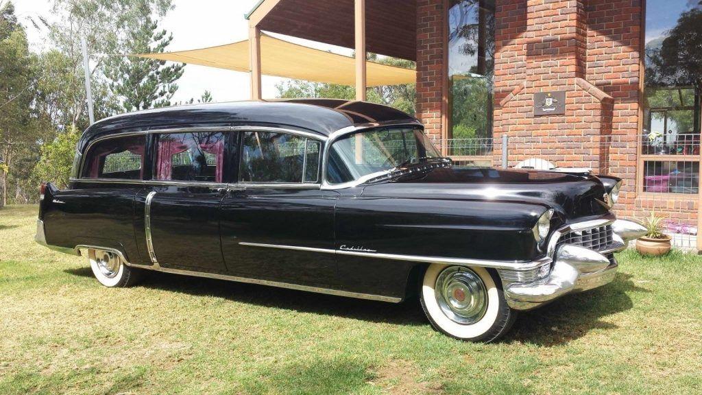 Vintage 1955 Cadillac Meteor Hearse For Sale