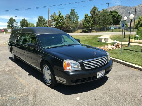 Well maintained 2001 Cadillac Eagle Hearse for sale