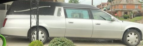 Well maintained 2003 Cadillac Deville Superior Hearse for sale