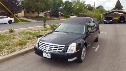 excellent condition 2011 Cadillac DTS Hearse for sale