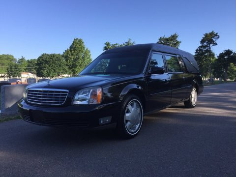 Fully Reconditioned 2000 Cadillac DeVille hearse for sale