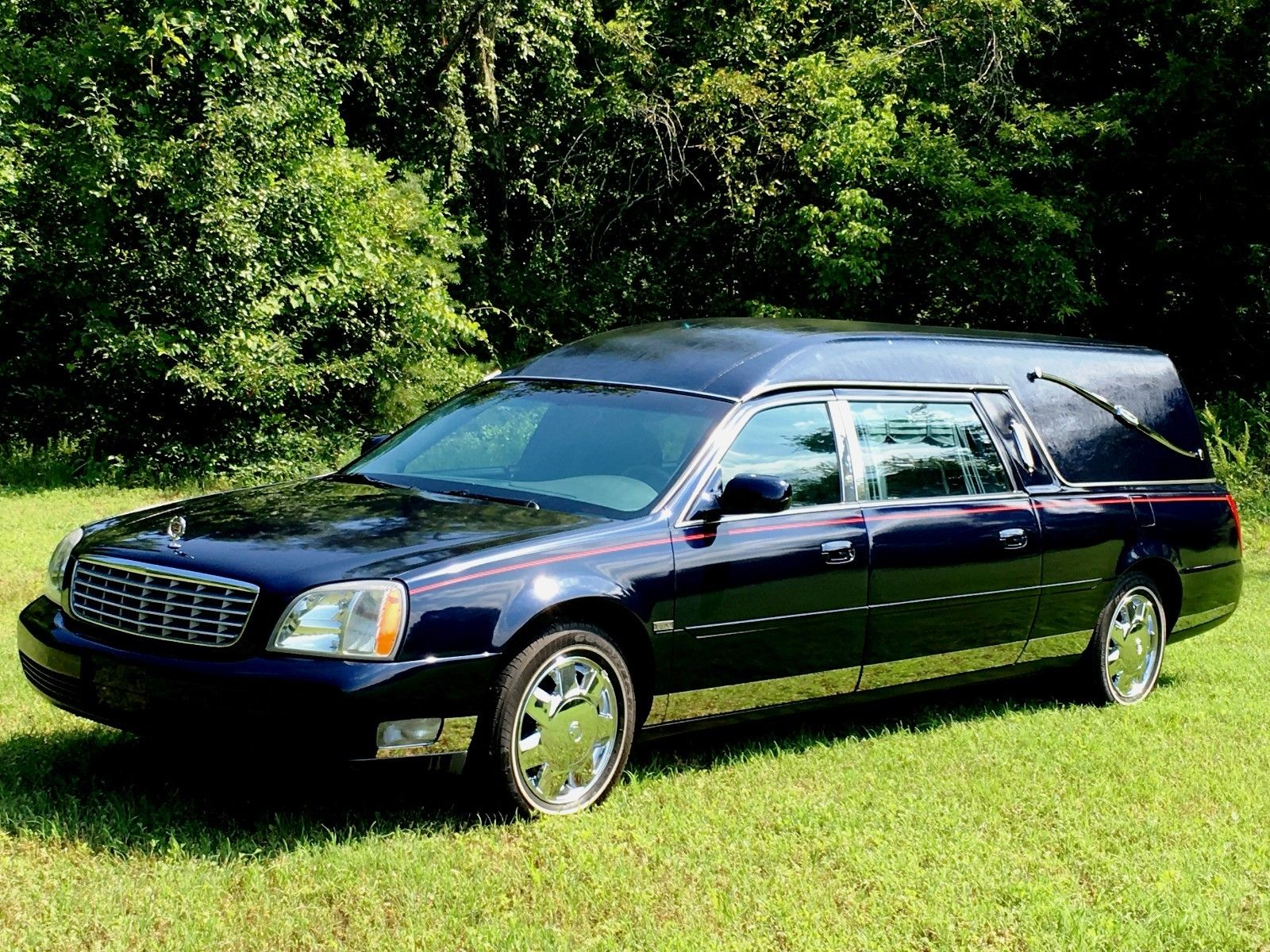 Laser Straight Cadillac Deville Eagle Hearse For Sale on 2004 Cadillac Escalade