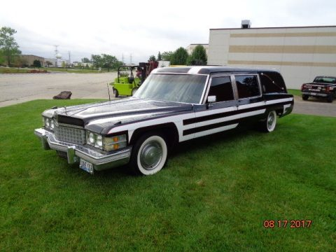 new tires 1974 Cadillac Fleetwood hearse for sale