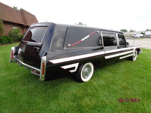 new tires 1974 Cadillac Fleetwood hearse