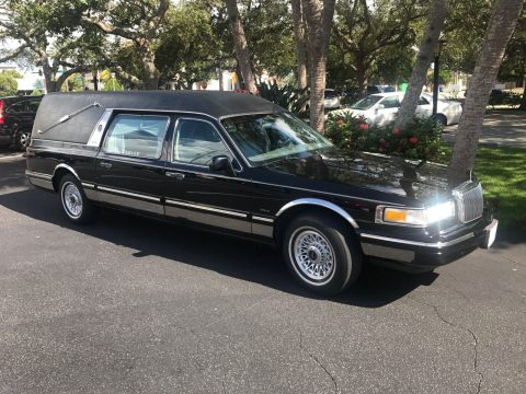 Original 1997 Lincoln Eureka Funeral Coach Hearse for sale
