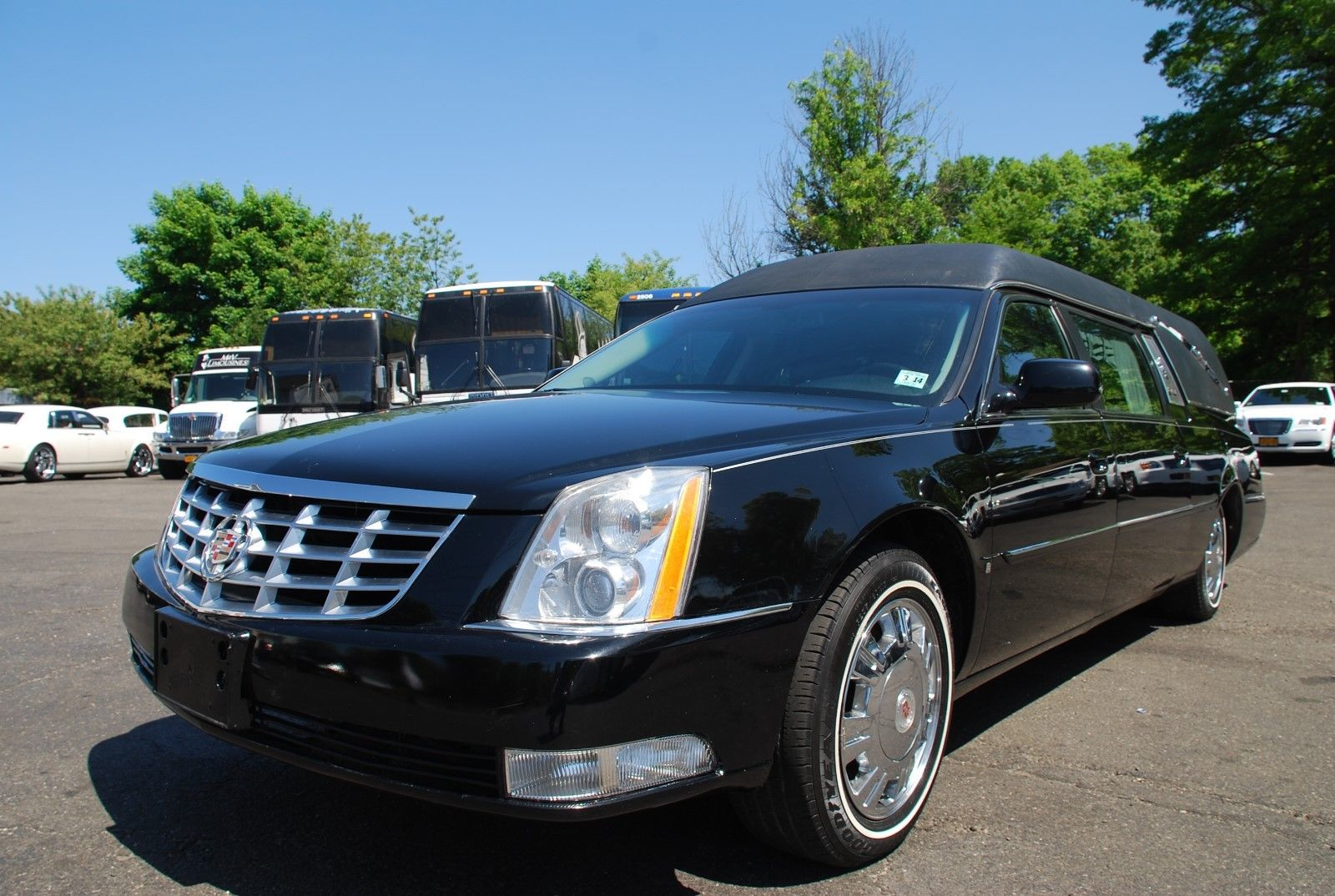 Clean 2010 Cadillac Dts Hearse For Sale