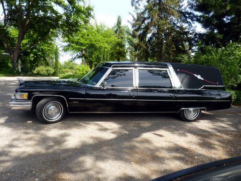 Custom 1975 Cadillac Hearse Converted to Limousine for sale