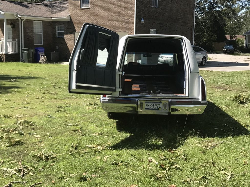 excellent condition 1996 Cadillac S&S Masterpiece hearse