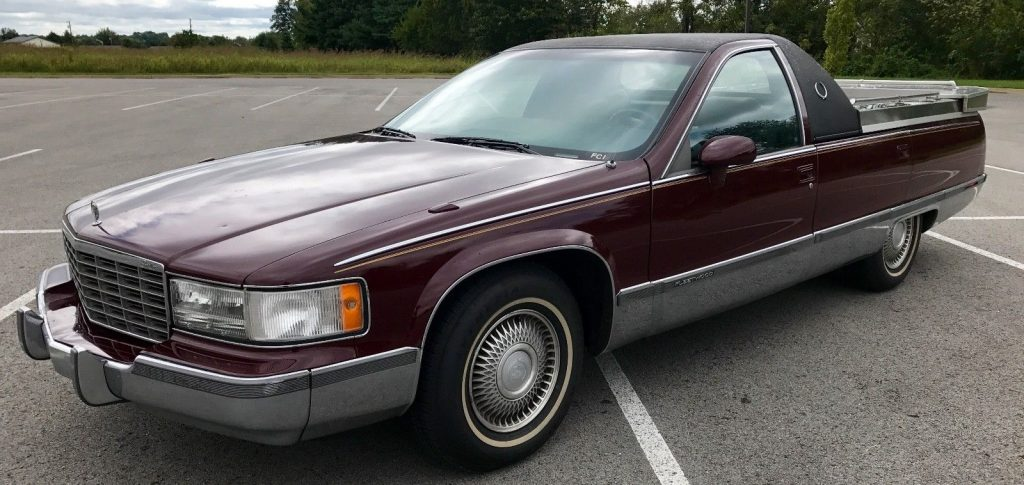 Flower car 1993 Cadillac Fleetwood Brougham hearse