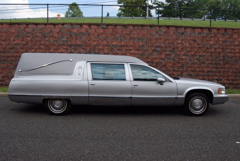 garaged 1994 Cadillac Fleetwood Hearse for sale