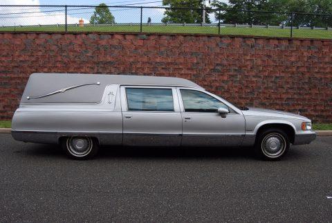 garaged 1994 Cadillac Fleetwood Hearse for sale