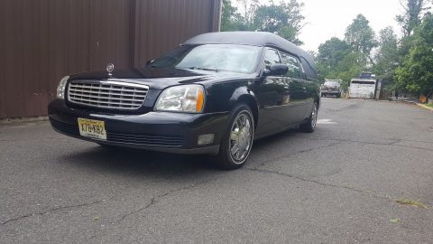 garaged 2004 Cadillac hearse for sale