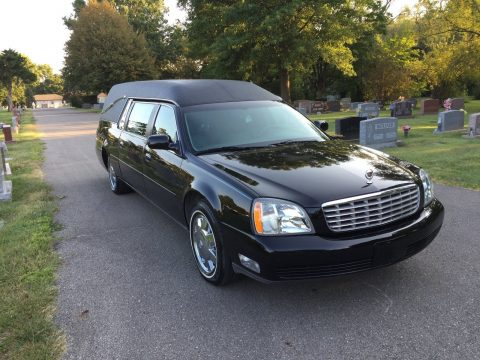 great condition 2005 Cadillac DeVille hearse for sale
