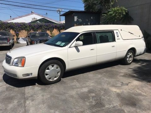 low mileage 2001 Cadillac Deville Sayers & SCOVILLE hearse for sale