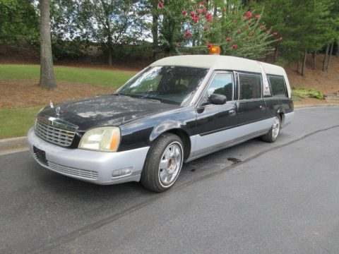 needs vinyl top 2003 Cadillac DTS S&S hearse for sale