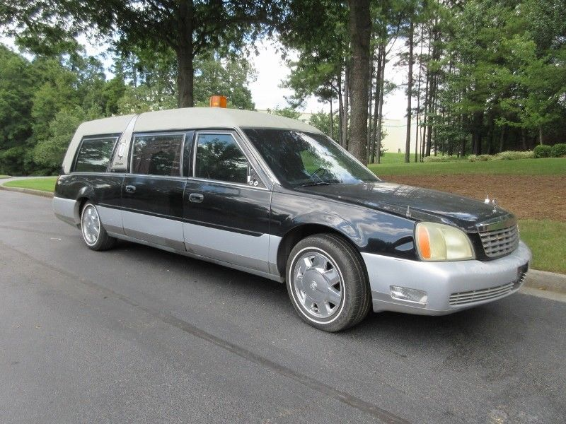 needs vinyl top 2003 cadillac dts s s hearse for sale. Black Bedroom Furniture Sets. Home Design Ideas