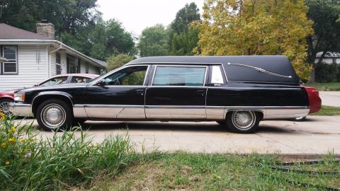 never abused 1996 Cadillac Fleetwood Superior hearse for sale