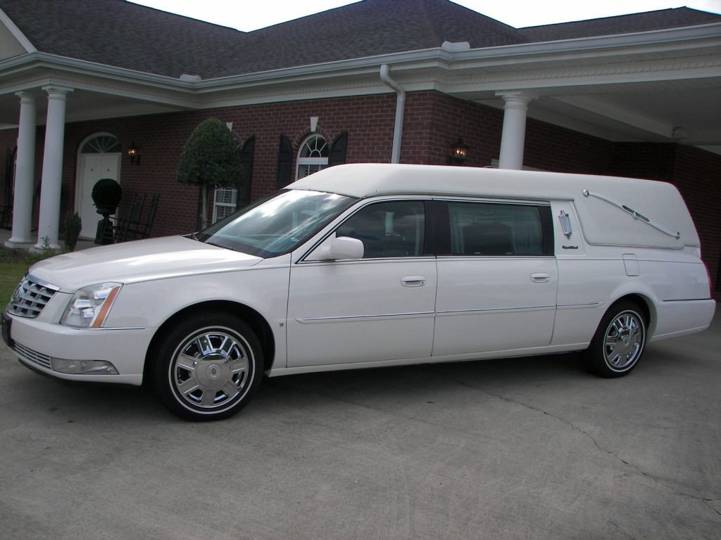 rust free 2008 cadillac dts s s hearse for sale. Black Bedroom Furniture Sets. Home Design Ideas