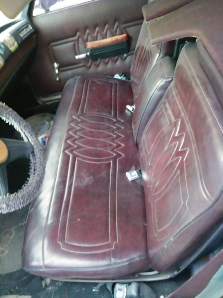 customized 1974 Cadillac Brougham Superior hearse