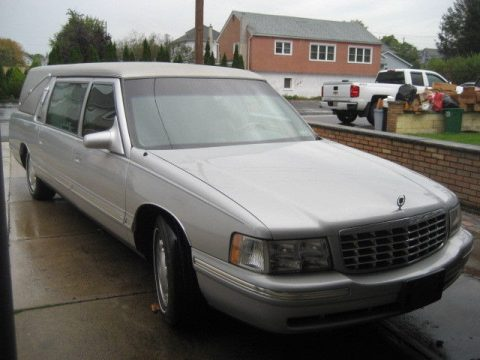 decent miles 1999 Cadillac Hearse S&S for sale
