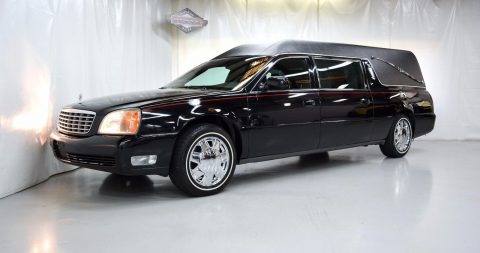 fully loaded 2000 Cadillac Deville Federal Coach hearse for sale