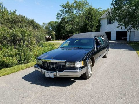 garage kept 1994 Cadillac Federal hearse for sale