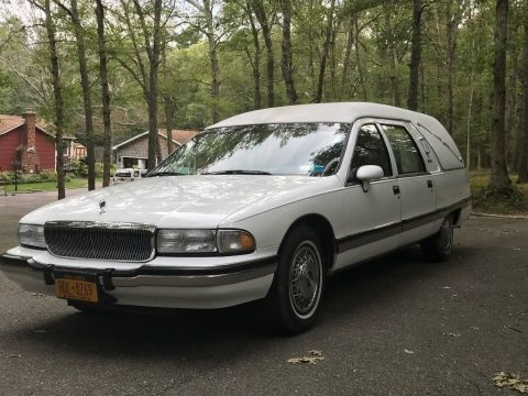low miles 1994 Buick Roadmaster hearse for sale