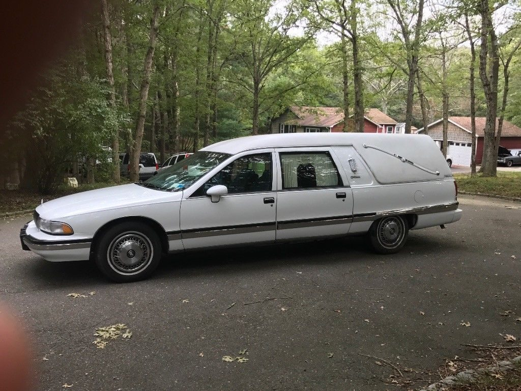 Buick Roadmaster Estate Wagon Partscontinued 1957 1958 94 96 Low Miles 1994 Hearse For Sale