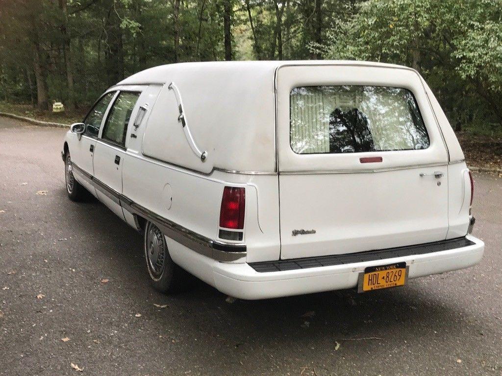 low miles 1994 Buick Roadmaster hearse