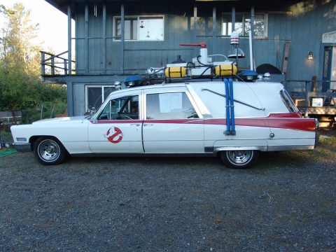 mechanically good 1967 Cadillac Superior Hearse Ecto 1 Ghostbusters Crown Royale for sale
