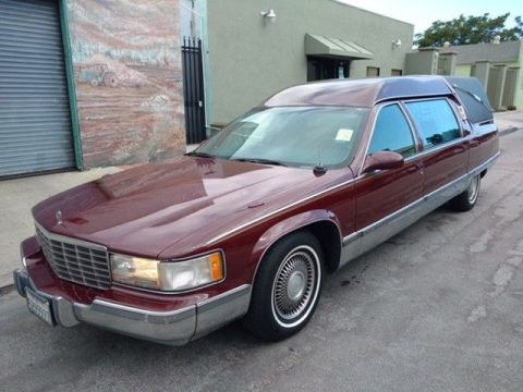 needs detailing 1995 Cadillac Fleetwood KRYSTAL hearse for sale