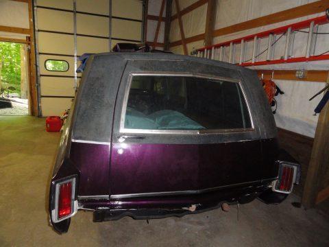 restoration in progress 1965 Oldsmobile Cotner-Bevington Hearse for sale