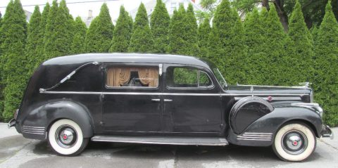 survivor 1942 Packard Henney Hearse for sale