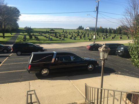 2001 Cadillac Deville Eagle Ultimate hearse for sale